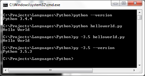 PythonVersion